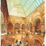 New-York-State-Capitol-Restoration-Albany-NY - watercolor architectural illustration rendering by Frank Costantino